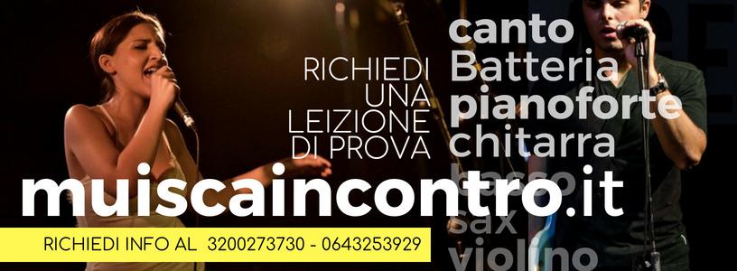 corso di musica roma